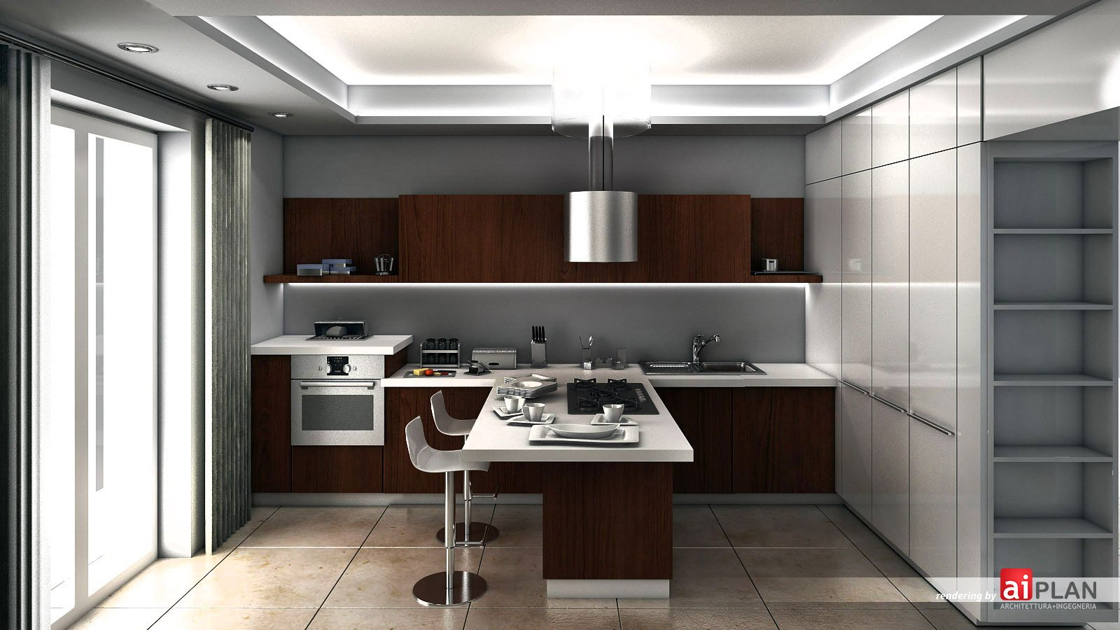 Illuminazione cartongesso cucina tutto su ispirazione - Illuminazione cucina moderna ...