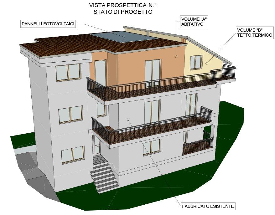 Progetto 3d casa progetto di interni di un di mq vista d for Costruisci il tuo progetto di casa