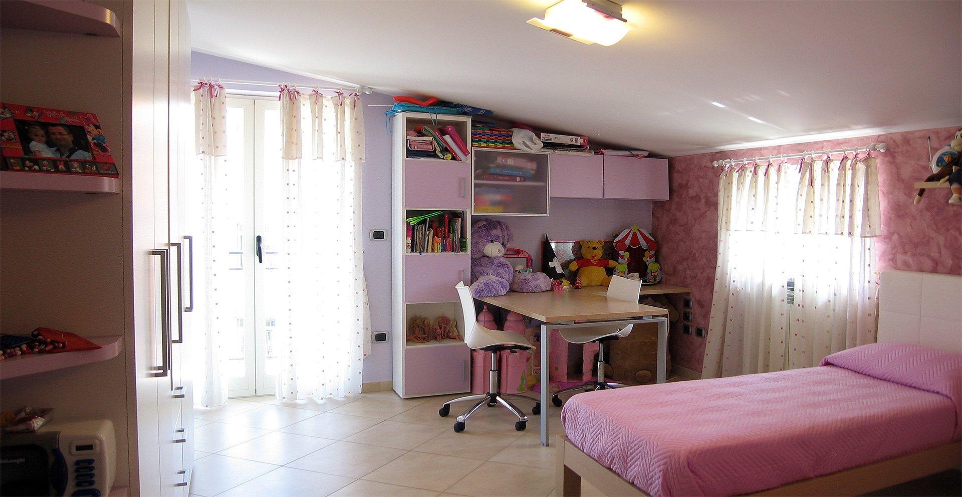 Progetto di arredo di una cameretta per bambini - Poggiomarino (NA ...