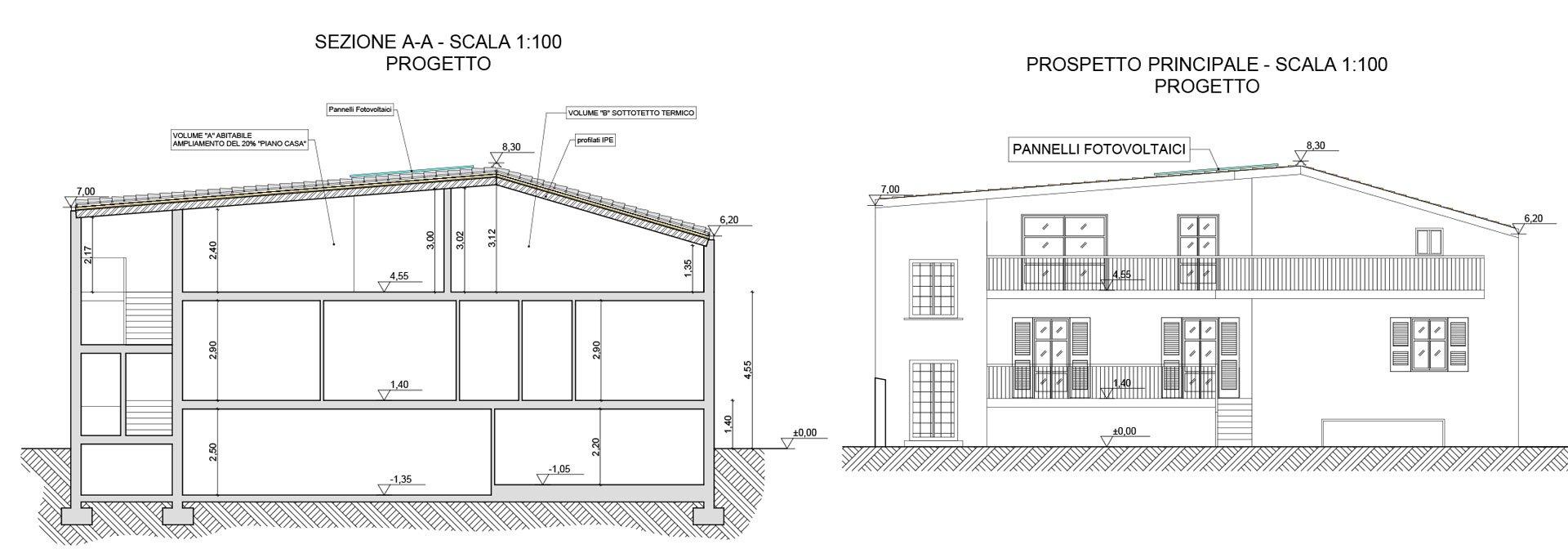 Progetto casa great amazing download by tablet desktop for Progetto casa in legno dwg