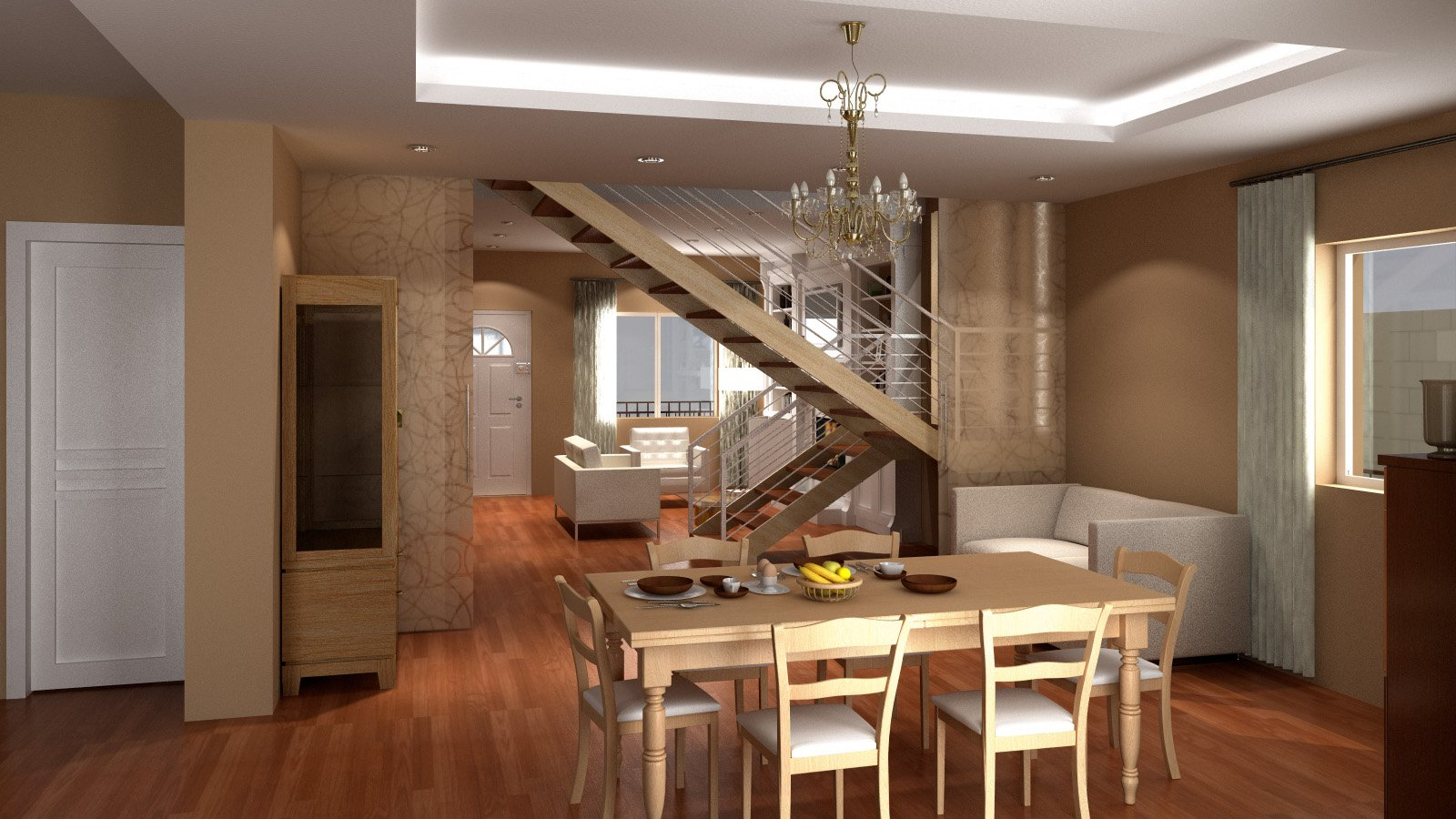 Progetto casa d 39 amora l poggiomarino na aiplan architettura e ingegneria - Case a due piani interni ...