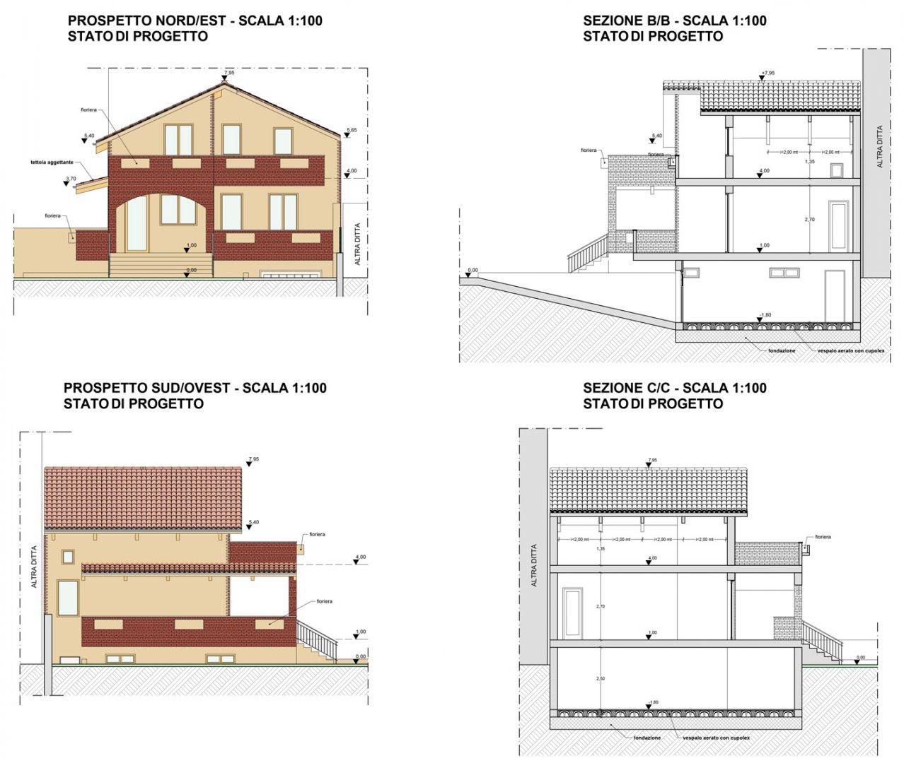 Progetto casa gragnaniello r poggiomarino na aiplan - Progetto casa pescara ...