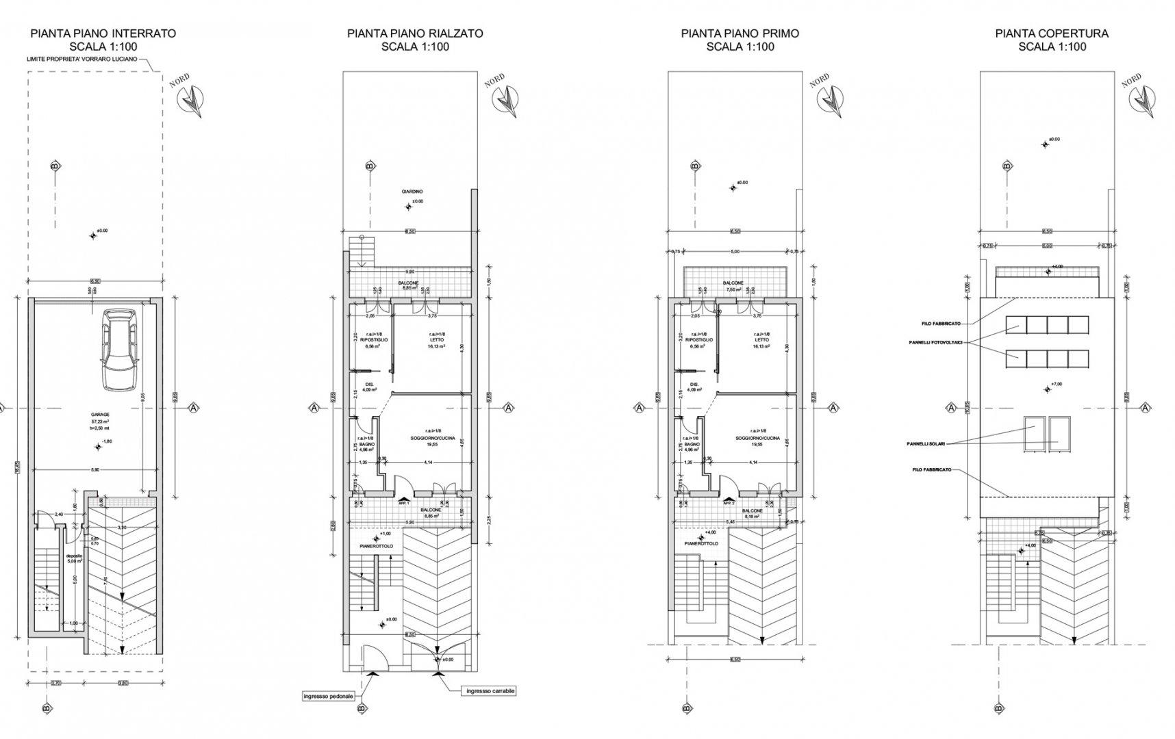 Progetto casa a due piani best villa su due piani con for Piani di casa e altro ancora