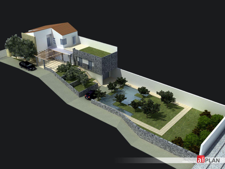 Giardini parchi e sistemi di verde aiplan for Rendering giardino