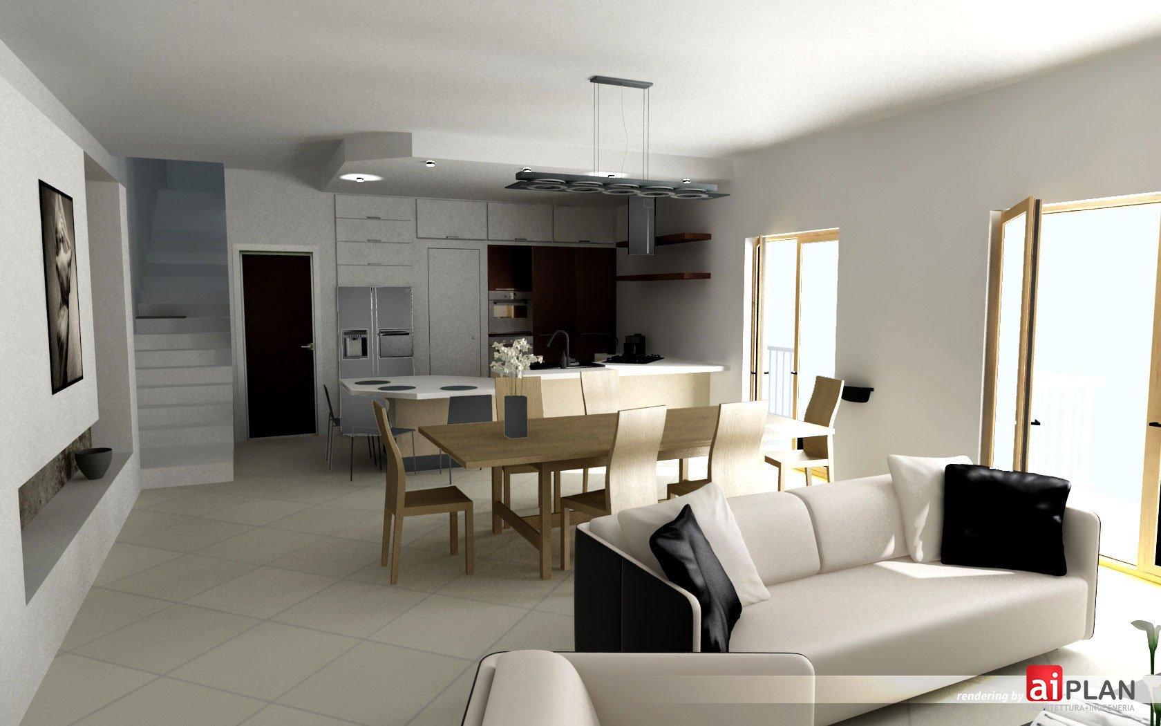 Interni di residenze aiplan architettura e ingegneria for Arredo interni idee