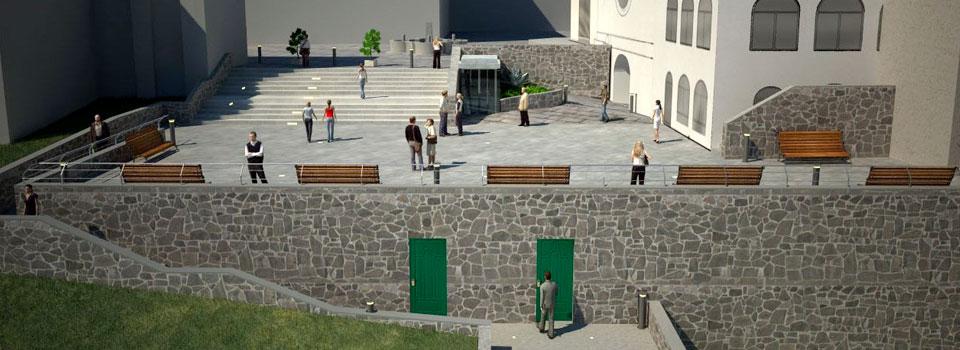 Sistemazione e adeguamento di Piazza Municipio - Scala (SA)